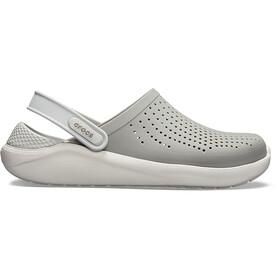Crocs LiteRide Clogs, gris/blanco